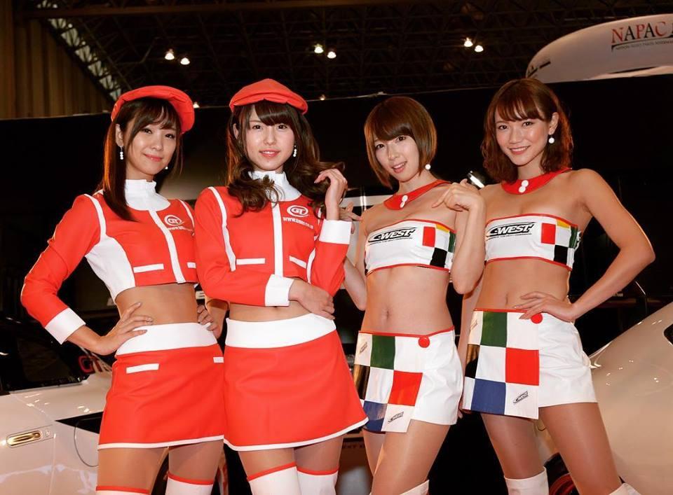 東京オートサロン2018_キャンギャル_GTNET_C-WEST